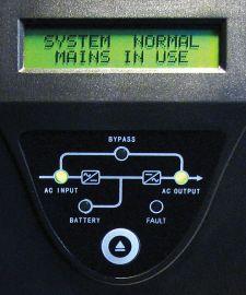Панель индикации иуправления (прежний вариант)