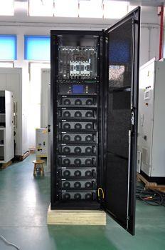 Power-Vision HF Module 8 x 20 кВА = 160 кВА (160 кВт) + зарядный модуль стойка высотой 2000 мм