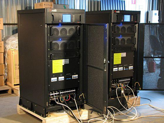 Параллельная система 2x40 кВА - Power-Vision HF